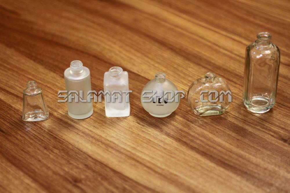 ساخت انواع شیشه عطر
